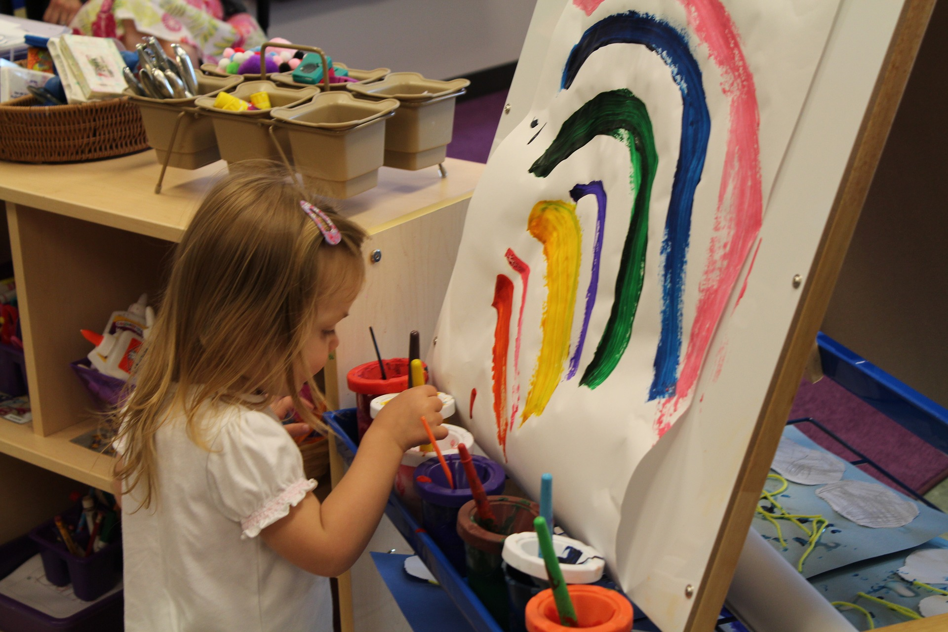 Enrichment programs such as art or music can boost your child's confidence in school.