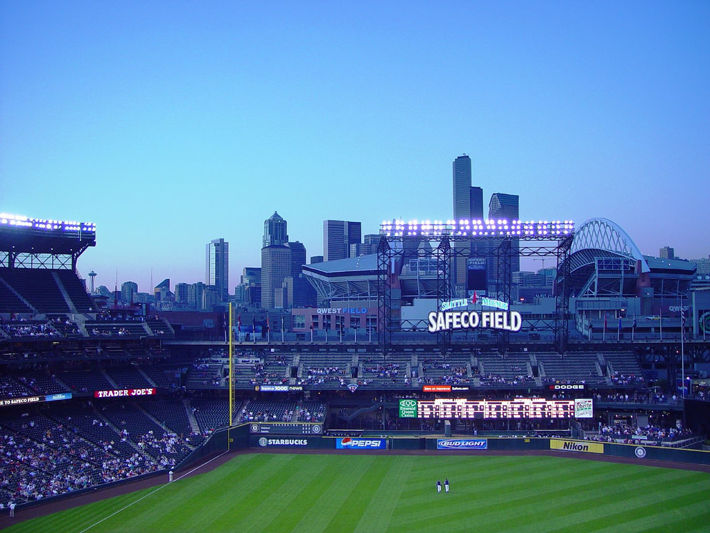 Seattle from Safeco Field